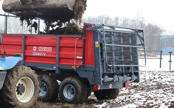 Навозоразбрасыватель 6 тонн N-267/1 — Центр Польской Техники